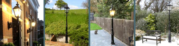 Più di 200 immagini dei clienti dei nostri lampioni da giardino